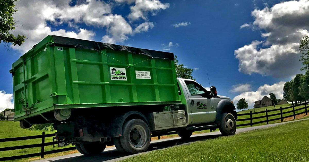 Dumpster Rental Prices From 200 Happy Little