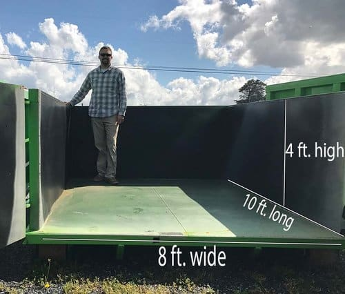 12 Yard Dumpster Dimensions