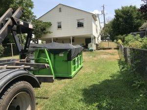 Basement Clean-out in Waynesboro