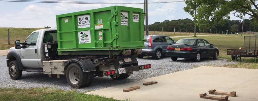 Residential Dumpster Delivery