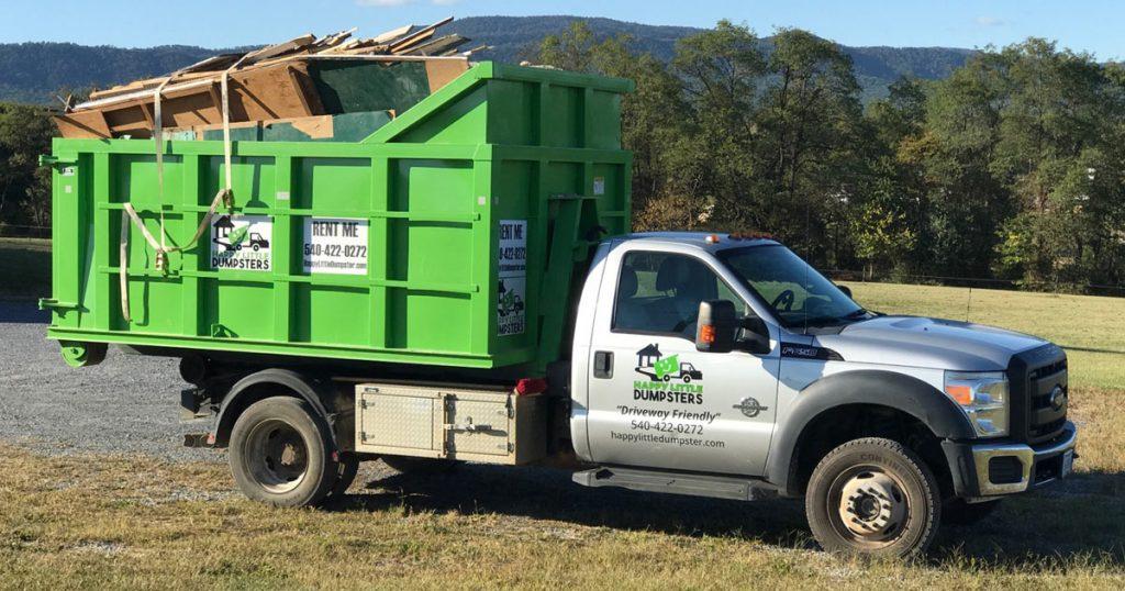 Residential Dumpster Pickup