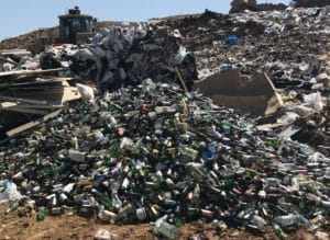 Recycle-Glass-in-landfill