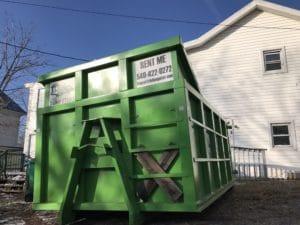 Scrap Metal Dumpster