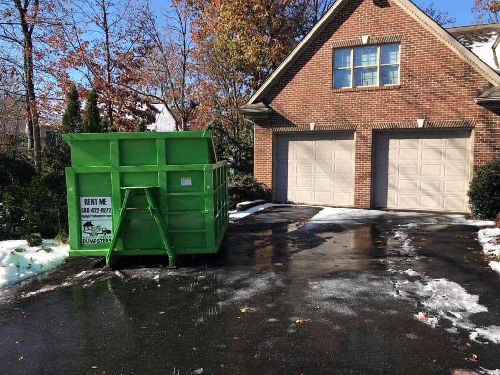 Dumpster Delivery in Harrisonburg, VA