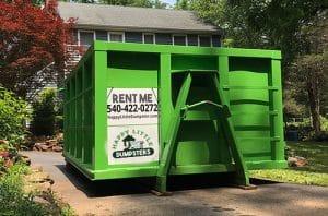 Dumpster in Waynesboro
