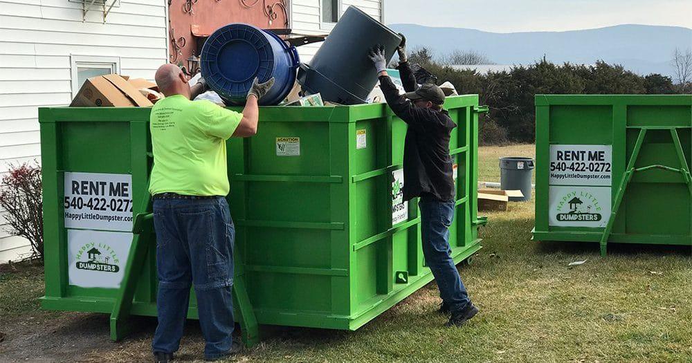 Junk Removal Dumpster Service